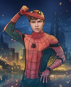 New spiderman